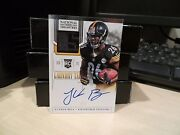 National Treasures Laundry Tag Rookie Autograph Steelers Leand039veon Bell 2/5 2013