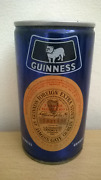 Vintage Guinness Beer Can Venezuela Steel Pull Tab Opened I.p.s.f.a.
