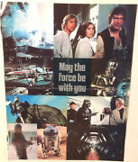Original 1977 Star Wars Pull-out Poster Folded