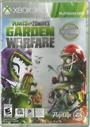 Plants Vs Zombies Garden Warfare 2014 Xbox 360 Game New Sealed Rare Oop