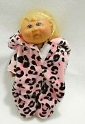 Cabbage Patch Kid Girl Doll Blond Hair Mini 7 Toys R Us Signed