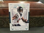 National Treasures Blue Parallel Base Card Texans Arian Foster 1/1 2015