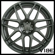 20 Ace Mesh-7 Grey Concave Wheels Rims Fits Bmw F12 F13 640 650 Coupe