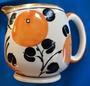 Ae Gray And Co Made In Haddley England Pitcher Hand Painted
