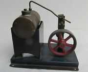 Old Vintage Toy Steam Engine, Argentine, Working, Lqqk Video, R.e.o. Very Good