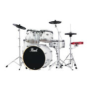 Pearl Drums Exx725s 5-piece Drum Kit W/ Hwp830 Hardware Pack, Pure White