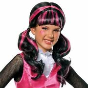 Girls 6+ Draculaura Wig Monster High Halloween Costume Accessory One Size