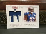 National Treasures Colossal Pro Bowl Jersey Buccaneers Gerald Mccoy 12/12 2013
