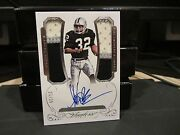 Panini Flawless Silver On Card Autograph Jersey Raiders Marcus Allen 25/25 2015