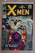 Marvel Comics Group The X-men 25 The Power And The Pendant El Tigre