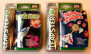Leap Frog Leapster New Sealed Number Raiders And Cosmic Math Game Lot Rare