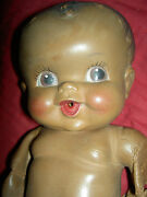Pair Amosandra Black Rubber 'amos And Andy' Baby Dolls Sun Rubber For Parts Tlc
