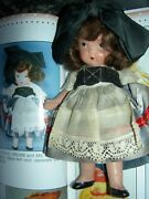 Nancy Ann Storybook Pudgy Jtd Bisque Doll 25 French Around The World Ms Mb