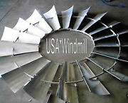 Aermotor Windmill Wheel For 8ft A702 Models New W/o Spokes Sections Assembled