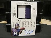 National Treasures Rookie Autograph Jersey Vikings Stefon Diggs 16/25 2015