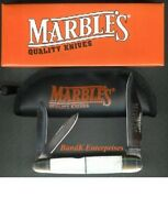 Marbles Pearl Large Whittler Folding Knife/knives - Mr119 - New In Box