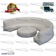 16ft Inflatable White Sofa And Table For Party Show Events With Air Pump