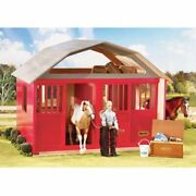 Breyer Traditional Red Two Stall Barn Model 19 Scale