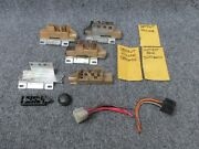 1969 Cadillac Ignition Switch Lots Set With Additional Parts - Used For Parts