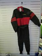 Go Kart Racing Suit Black Red Used No Brand Good Condition