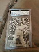 1949 Babe Ruth Magazine Cut Out Graded By Fgs Gem Mint 10
