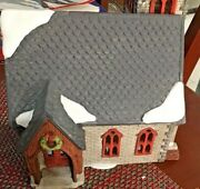 Department 56 Dickens Village - Norman Church - Very Rare. Limited 2936/ 3500.