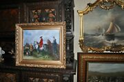Lovely Old Allegorical Victorian Painting