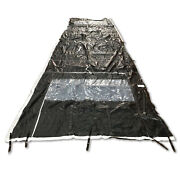 Military Army Tent Liner Extendable Modular Flame Resistant Ridgeline 30and039 X 8and039