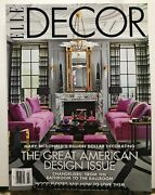 Elle Decor Great American Design Issue Chandeliers March 2019 Free Shipping Jb