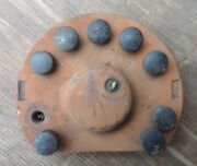 Bosch 9 Cylinder Magneto Cap Cover Vintage Aircraft Lycoming Wright Boeing