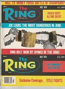 The Ring Magazine The Ring Championship Belt Won By Leon Spinks July 1978
