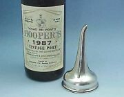 Scottish Sterling Silver Two Piece Wine Or Port Funnel Made In Edinburgh 1820s