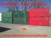 20and039 Cargo Container / Shipping Container / Storage Container In Savannah Ga