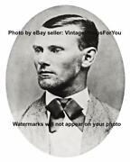 Wild West Bank Train Robber Outlaw Confederate Veteran Jesse James Photo Picture
