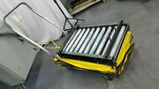 T And S 1000 Lb. Scissor Lifting Lift Cart 48 High With Roller Top