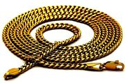 Authentic Yellow Gold 20ct 20k Men's Chain Necklace 19 Fine Chain India