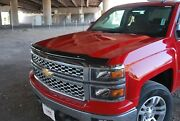 Chevy Silverado Double Cab 2014 - 2015 Tape On Wind Deflector And Bug Shield Combo