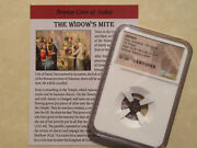 Ngc Widows Mite 2000 Year Old Coin Bible Story Gift For Religion Christian 31