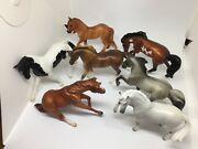 Breyer Stablemates 2018 Mystery Surprise Horses 6039 Lot Of 7
