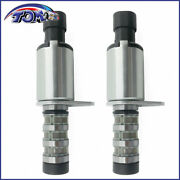 Engine Variable Valve Timing Solenoid Intake Exhaust For Chevrolet Saturn 2pcs