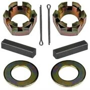 Rear Axle Nut And Key Set For 1928-1964 Ply - Dodge - Desoto - Chrys