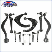12pcs Front Upper Lower Control Arms Kit For 2006-2007 Ford Fusion Milan
