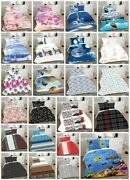 Luxury Duvet Cover With Pillow Case Premium Bedding Set Quilt Cover All Sizes