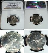 1978 Canada 25 Cents Mint Error Struck On 5 Cents Planchet Ngc Ms-64 Scarce