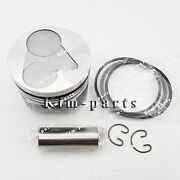 3 Sets Std Piston Clip And Pin And Rings For Kubota D1305 Diesel Engine