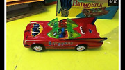 Vintage Batmobile Battery Operated. Nice Condition With Box. See Description