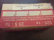 2012 Canada Canadian Sealed Box Of 50 Rolls Of Magnetic 1 Cent / Penny Coins
