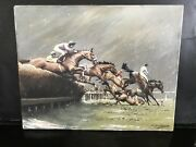 Andlsquo Over The Hurdles Andldquo Painting On Canvas