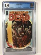 The Walking Dead 27 - Cgc 9.0 - 1st Appearance Of The Governor