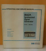 Hp / Agilent 08662-90061 8662a Operating And Service Manual